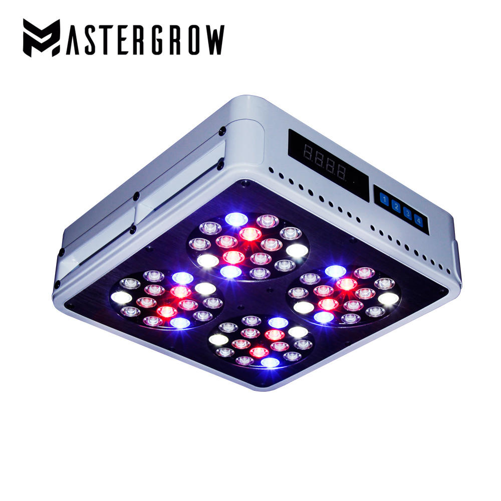 Dimmable Remote Control Apollo 4 Full Spectrum 300W LED Grow Light 10band For Indoor Plants Hydroponic System Greenhouse Tent