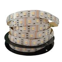 New Led Strip RGB+CCT SMD 5050 RGB LED Strip 5M DC 12V RGBCCT 5 in 1 Fita 30led 60led per meter LED Light Strip Flexible String