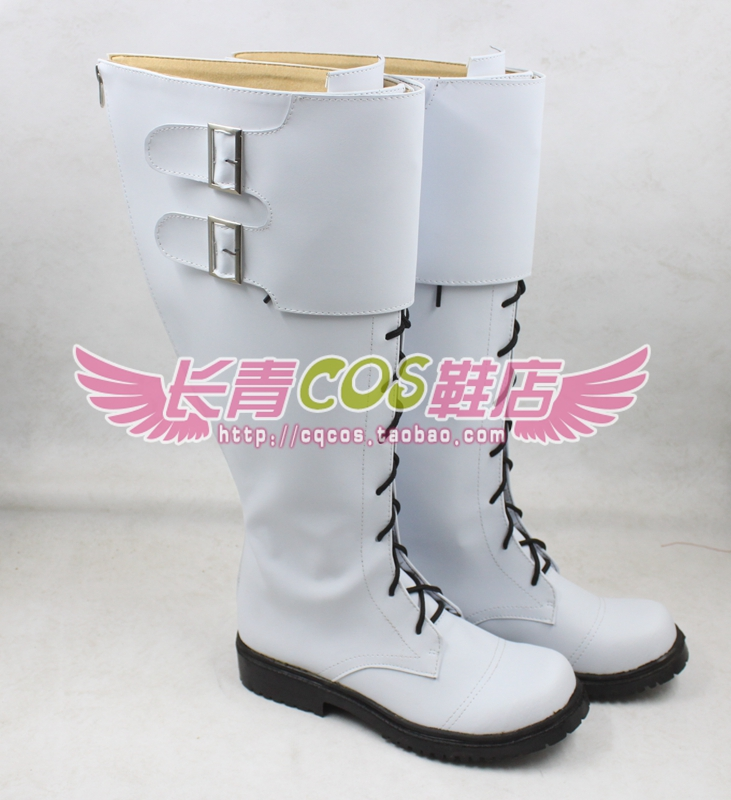 Dramatical Murder Clear cosplay Shoes Boots Custom Made 7611
