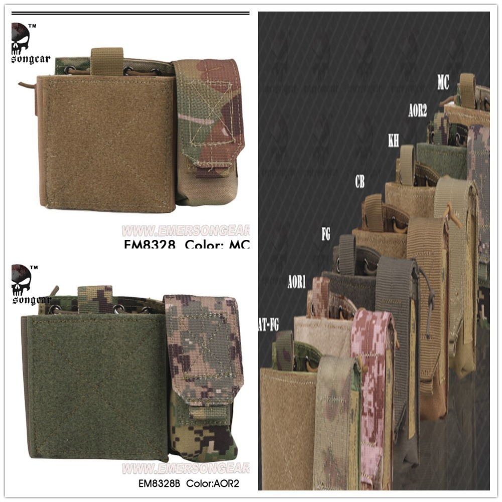 Emerson SAF Admin Panel MAP pouch Molle military airsoft painball combat gear EM8328 Lei ...