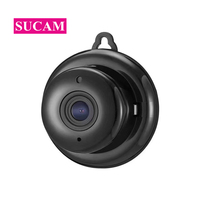 SUCAM HD 1MP Mini Wifi Camera Indoor Hanging Small Size Two Way Audio Home Security Surveillance Wireless IP Camera with IR Cut