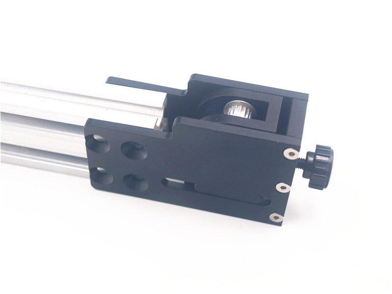 Funssor Tarantula/HE3D 3D impresora actualización aluminio eje Y kit tensor para Anet A2 eje Tensor de correa