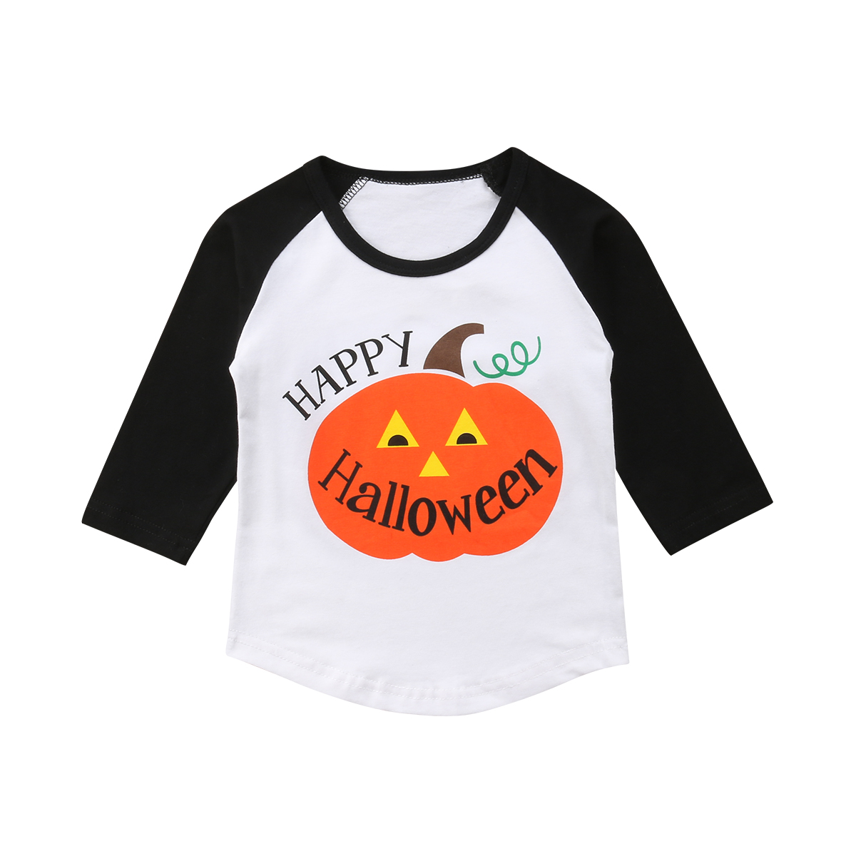 2059acffafcb38 Halloween Kids Baby Boys Cartoon Pumpkin Tops Long Pants Leggings Outfit  Clothes Outfits   Sets