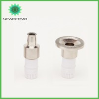 NEWDERMO Free Shipping Diamond V Face Massage Tip For Microdermabrasion Machine Skin Rejuvenation 3 Different Heads