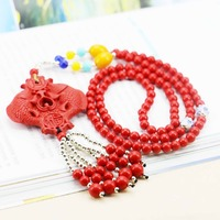 Double Fish Lucky Pendant Accessories Series Necklace Choker Sweater Chain Jewelry crafts Women Girls Gifts making design 18inch