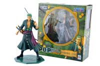 Classic Anime 20cm Roronoa Zoro One Piece One Piece Action Figures Anime PVC Brinquedos Collection Figures