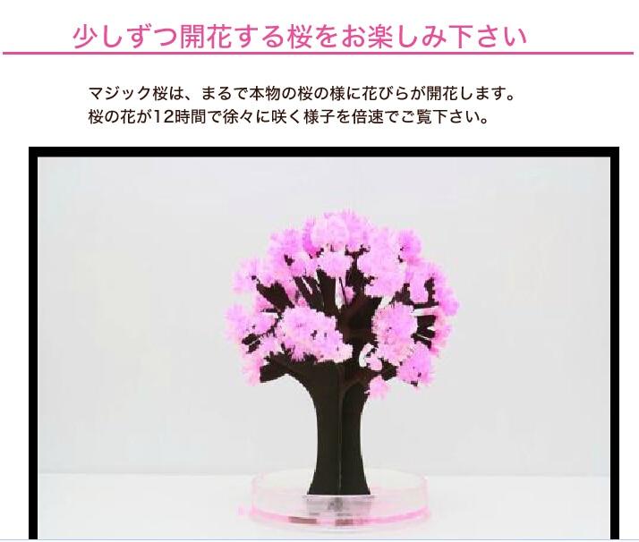 2017 14x11 cm Rosa Grande Crecer Magia de Papel de Sakura Árbol - Nuevos juguetes y juegos - foto 4