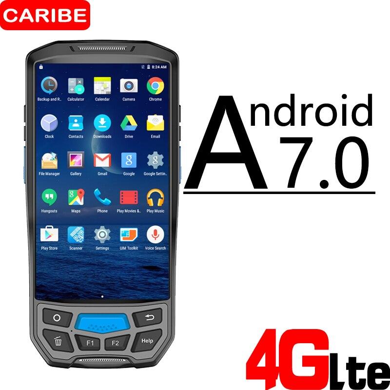 CARIBE PL 50L беспроводной Промышленный Склад управление запасами прочный мобильный КПК Портативный android КПК машина