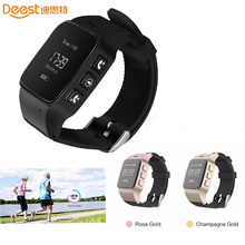 Elderly D99 Smart Watch Anti-lost Mini Waterproof Wifi LBS GPS Tracking Smartwatch For Old People Parents