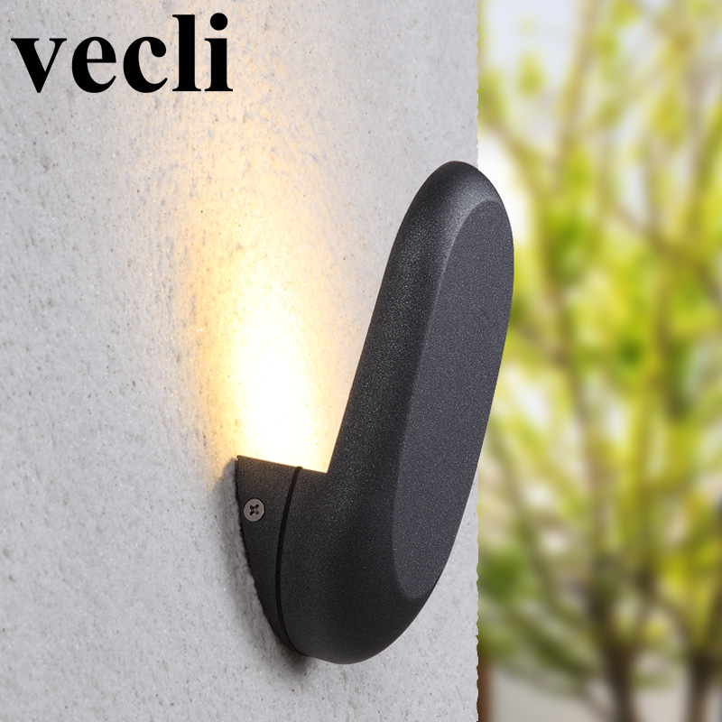Europe simple style led outdoor wall light waterproof creative buitenverlichting vill garden residential wall light fixture villas superb residential style