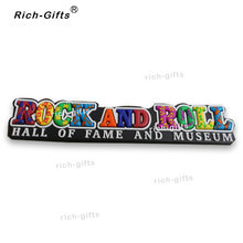 Disesuaikan OEM/ODM Hadiah Promosi Dengan Logo Silicone Hadiah Item Souvenir Magnet Kulkas Anda Rock And Roll 1000 PCS/Lot (RC-US)(China)