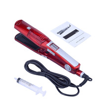 2018 Steam Flat Iron 2 In 1 Curling Irons Hair Straighteners Ceramic Hair Straightener Styling Tools