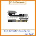 10 pçs/lote novo original novo para apple ipad 2 ipad2 substituição conector dock de carregamento carregador porto flex cablefor