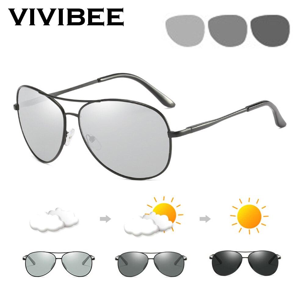 e2ab6bed14 Gafas de sol polarizadas de aviación de VIVIBEE, gafas de sol de aluminio y  magnesio para hombre, gafas de sol para mujer, gafas de sol para conducir