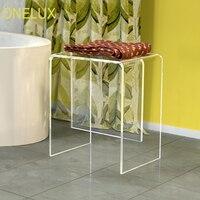 Акриловая ванночка/стул для душа  Lucite Side U table -40W 30D 47H см