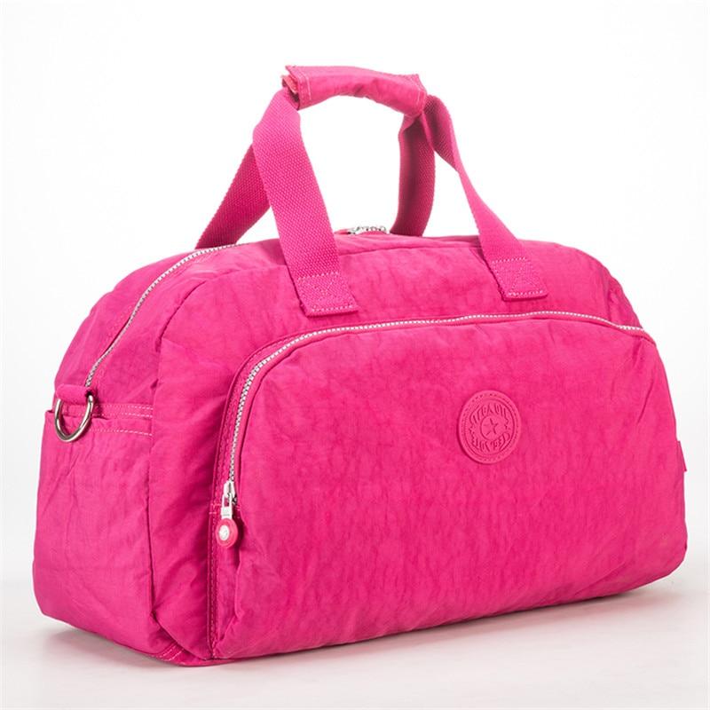 Чоловіки жінок повсякденні подорожі Duffel сумка водонепроникний великої ємності дозвілля Crossbody плеча Tote сумки