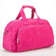 Купить с кэшбэком Men Women Outdoor Casual Gym Sport Travel Duffel Bag Waterproof Large Capacity Leisure Crossbody Shoulder Tote Travel Bags