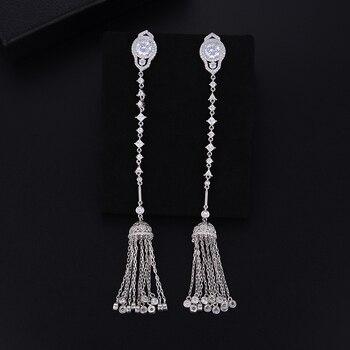 5ad4ee238fc1 Xuping cristales de moda de Swarovski pendientes de Hopp de moda joyería  caliente para mujer regalo S29.9-28457
