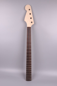 left hand Electric bass guitar neck  21 fret 34 inch maple wood rosewood Fretboard    #719