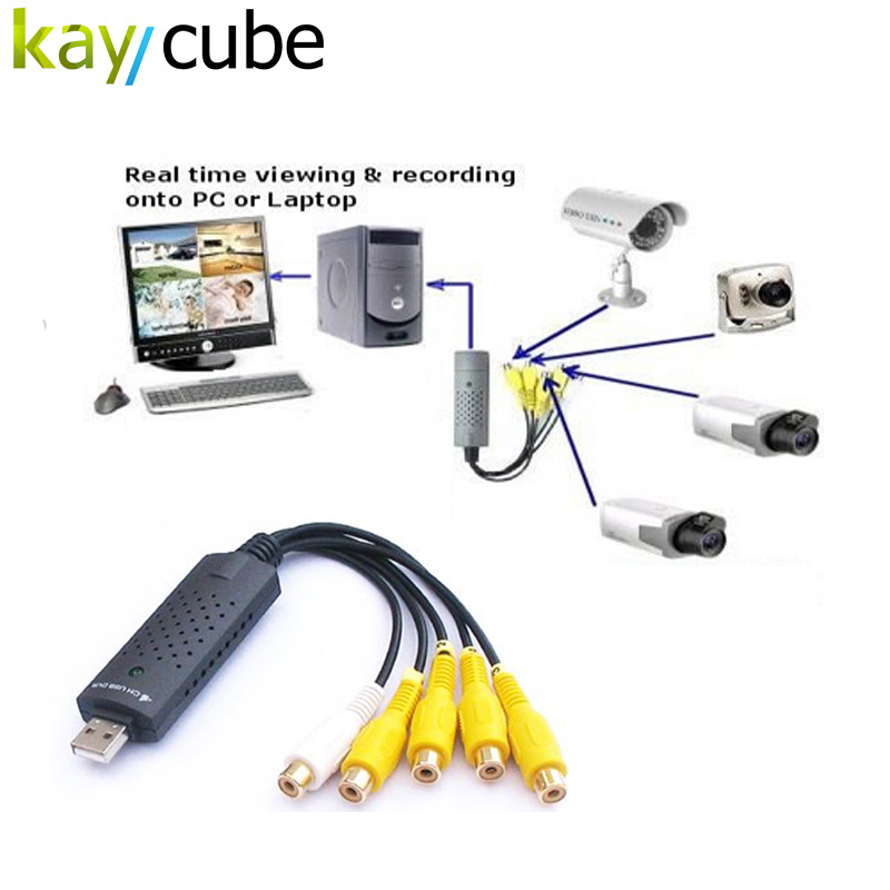 4 Channel USB Video Capture Card DVR For CCTV Camera Monitor DVD 4CH Usb Dvr Cards Board To VHS Video Recording PAL /NTSC 4 channel usb video capture card dvr for cctv camera monitor dvd 4ch usb dvr cards board to vhs video recording pal ntsc