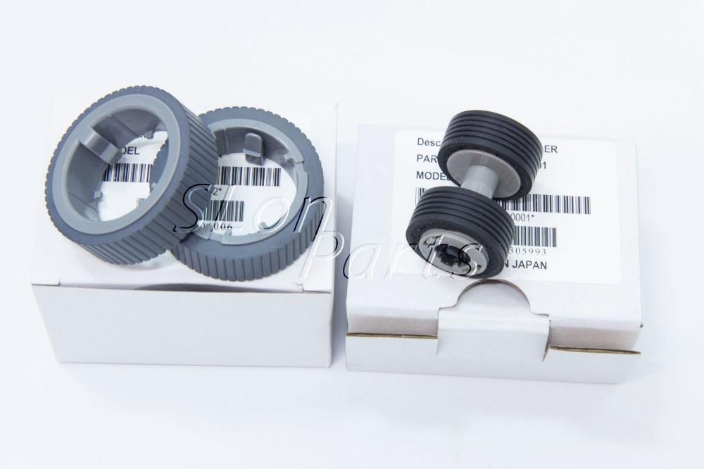 5 Set Scanner 7160 PA03670-0001 PA03670-0002 for Fujitsu Fi-7160 Fi-7180 Fi-7240 Fi-7260 Fi-7280 Fi-7460 Brake Pick Roll цена