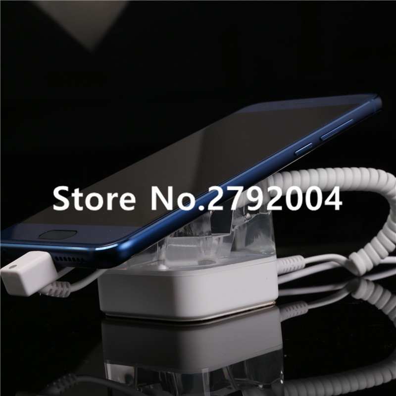 цена на emote control pure color acrylic security display stand for cellphone