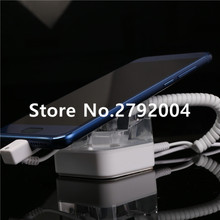 mobile display anti-theft cell phone retail holder alarm stand