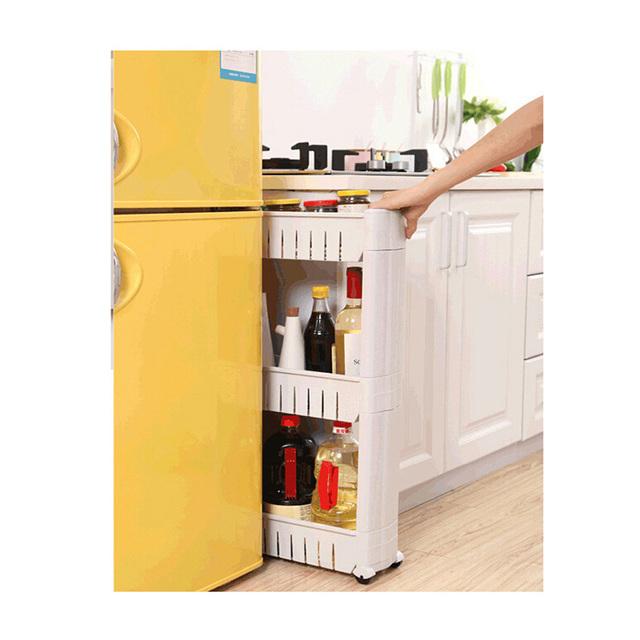 Universal Wheeled Kitchen Storage Shelf