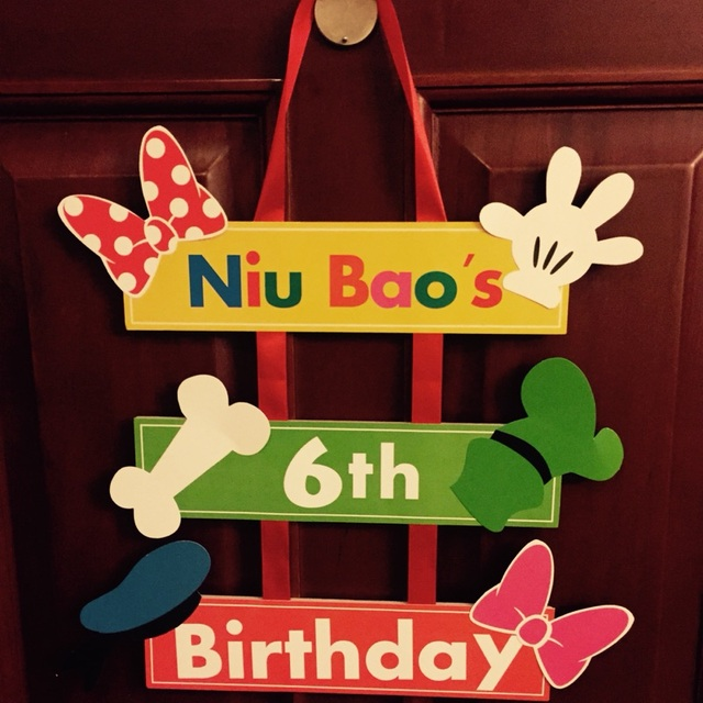 Aliexpresscom Buy Customization Welcome Board Kids Birthday