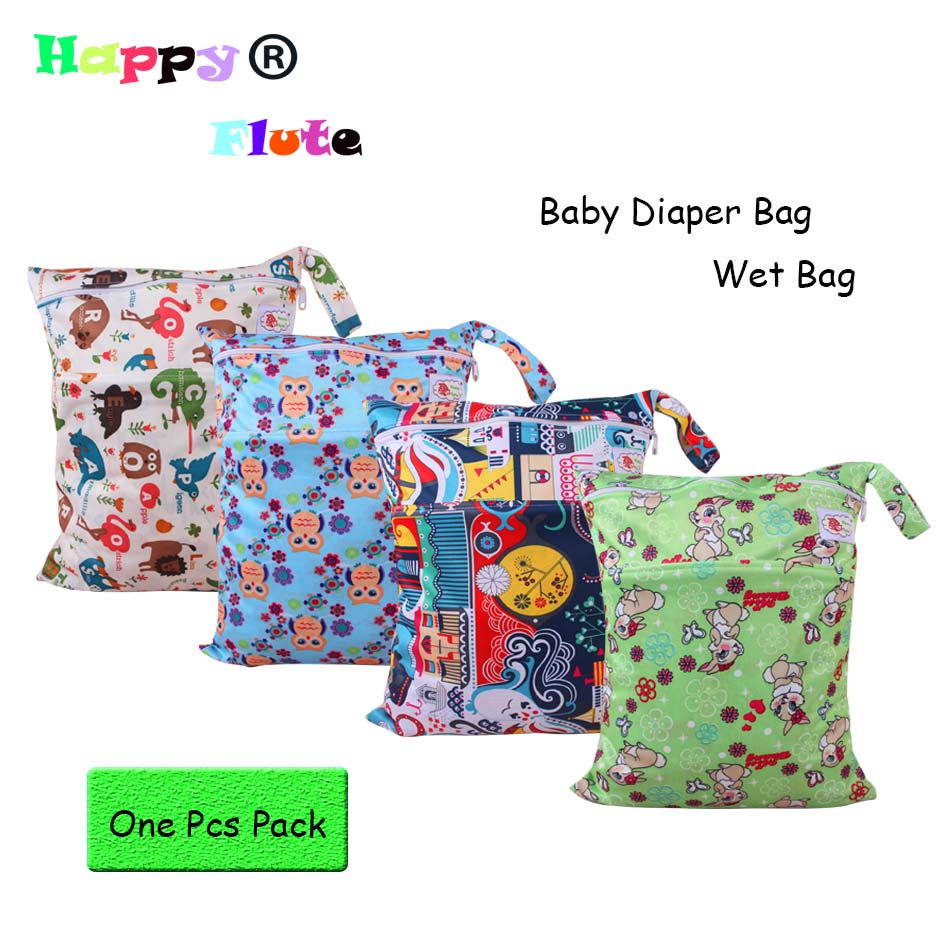 happyflute wet bag baby diapers bag 30x40cm plain color handle 2 zippers 1pcs freeshipping in. Black Bedroom Furniture Sets. Home Design Ideas