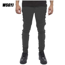 Men Pants 2017 Casual Stripe Trousers Mens Fitness Workout Pants Skinny Sweatpants Trousers Jogger Pants M-XXXL 185