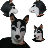Dành cho người lớn Chó Husky Mặt Nạ Đảng Cosplay Joke Spoof Lễ Hội Đồ Chơi Đáng Sợ Halloween Mặt Nạ Đồ Chơi Vui Masquerade Mặt Nạ cho Tốt Nghiệp