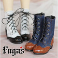 Victoria British Retro Carved Boots for BJD Girl Doll 1/3 SD10/13, 1/4 MSD Doll Shoes SW21