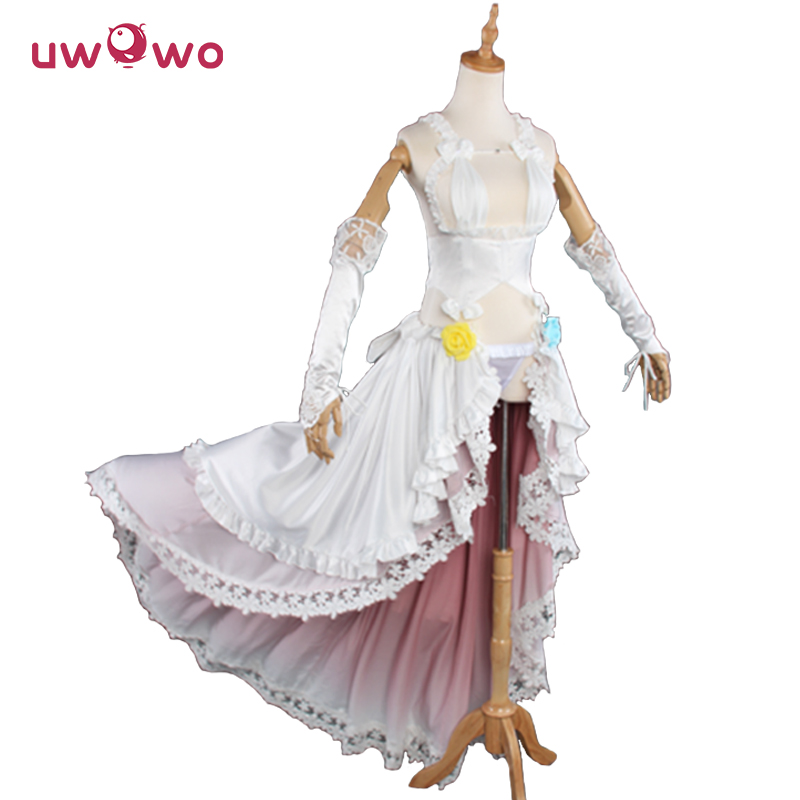 SUPER SONICO Cosplay SONICOMI Soni-Ani Super Sonico Animation VOCALOID Idol Wedding Dress Women Costume Vocaloid Cosplay Uwowo