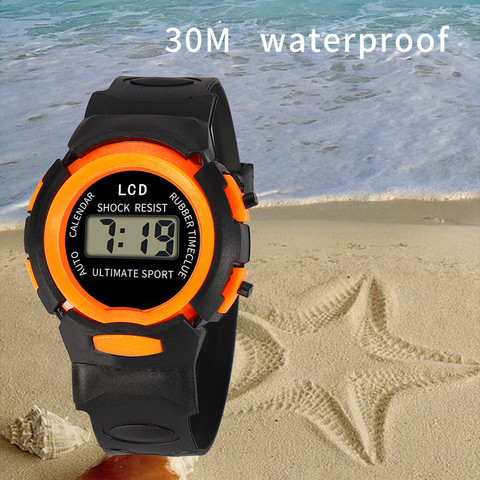 Sport Student Children Watch Kids Watches Boys Girls Clock Child LED Digital Wristwatch Electronic Wrist Watch for Boy Girl Gift Islamabad