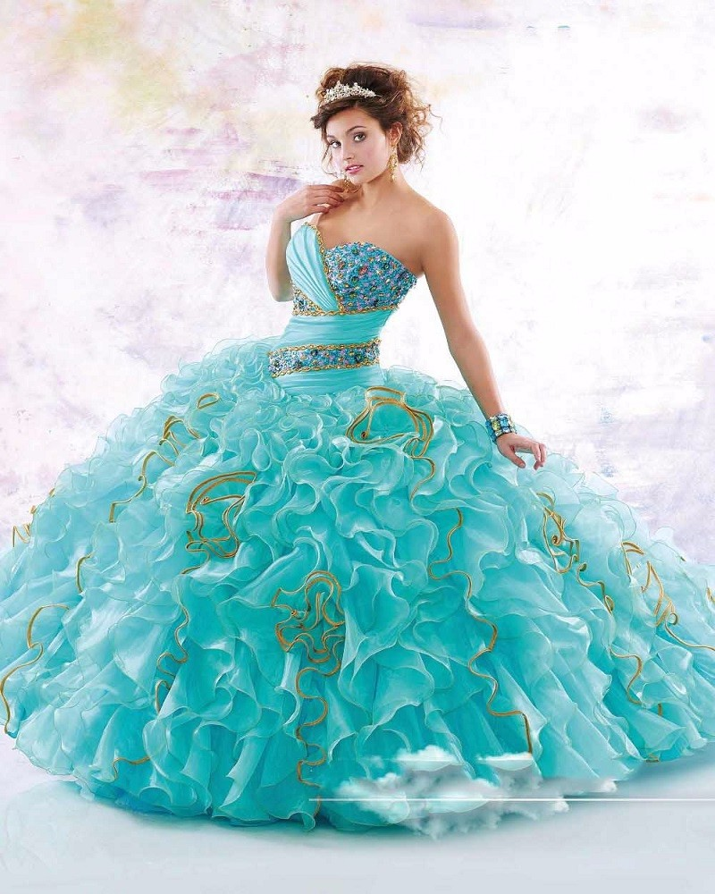 Free-Bolero-Blue-Ball-Gown-Quinceanera-Dresses-New-Sparkling-Beads-Crystal-Organza-Prom-Dresses-15-Years