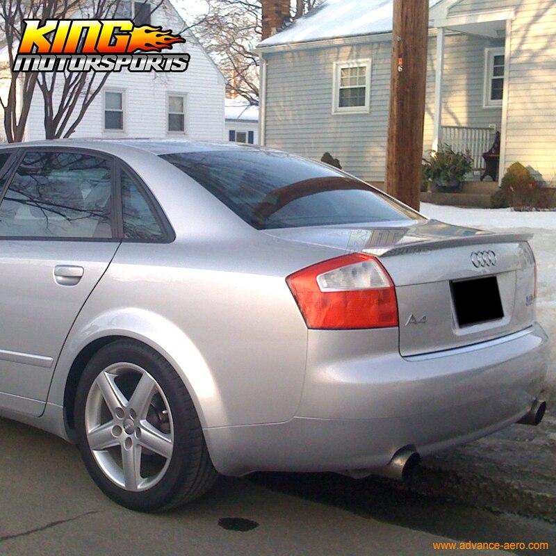 For 02 05 Audi A4 B6 4dr Abt Style Ly7g Quartz Gray Metallic
