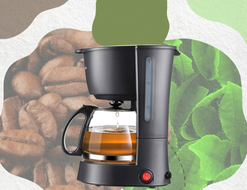 coffee maker USES American drip-drip, automatic miniature Drip Coffee Maker Cafe American coffee maker uses the american drizzle to make tea drinking machine