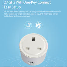 Wifi British standard intelligent voice timing socket UK Smart Plug for Amazon Alexa Google Assistant
