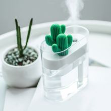 160ML Cactus Ultrasonic Air Humidifier USB Essential Oil Diffuser Car Purifier Aroma Diffusor Anion Mist Maker for Home Office portable mini usb humidifier ultrasonic 160ml cool mist car air purifier for bedroom office house desktop spa baby kids