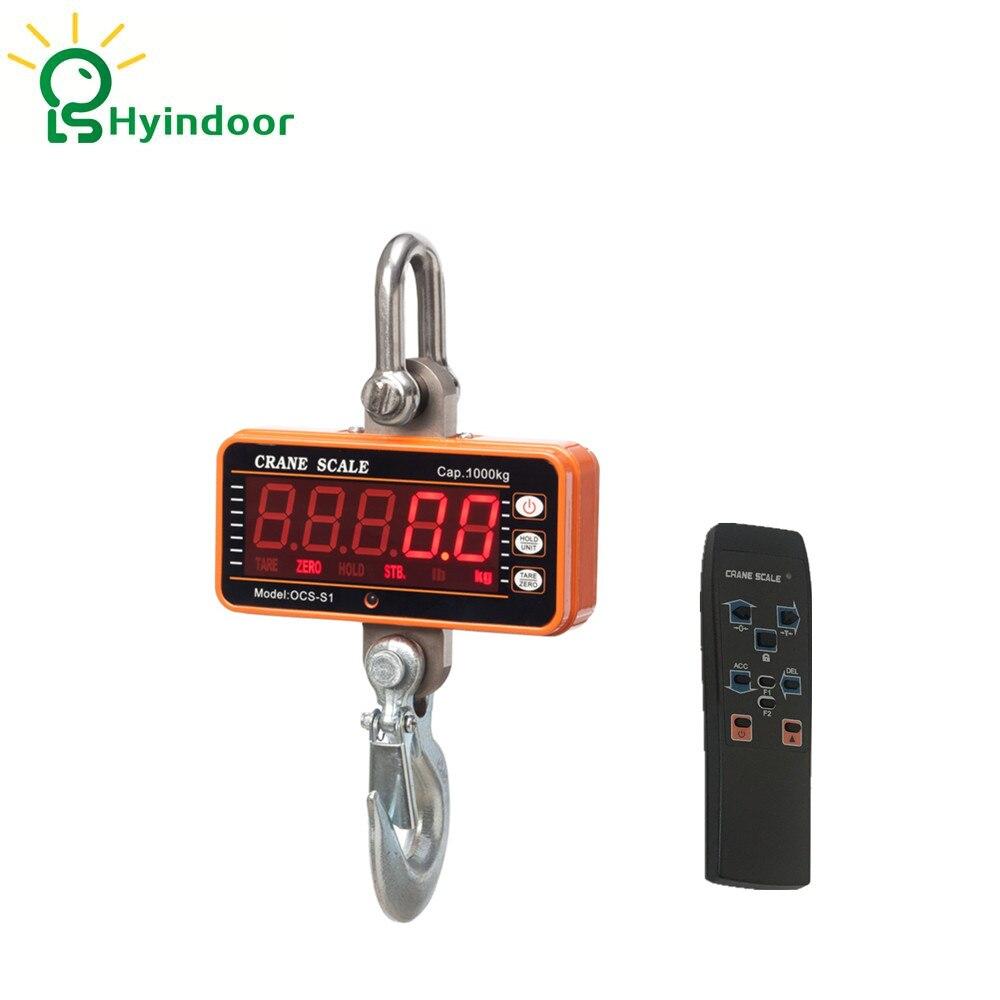 1 т высокое Разрешение электронный Весы цифровой висит крюк крана Весы (ocs-s1 1000)