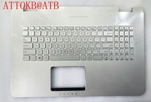 لوحة مفاتيح جديدة للحاسوب المحمول US/UI/FR لـ ASUS N751 N751J G771 G771JW GL771JM GL771JW مع إضاءة خلفية مع غطاء C