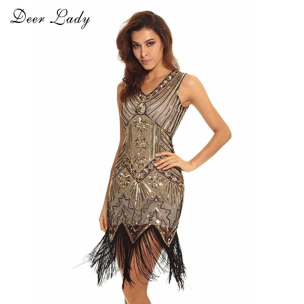 d71e94487784d 2016 Free Shipping Tassel Silver Fringe Dress 1920s Flapper Dress Black  Sequin Fabric Beaded Flapper Bodycon Dress Wholesale HL