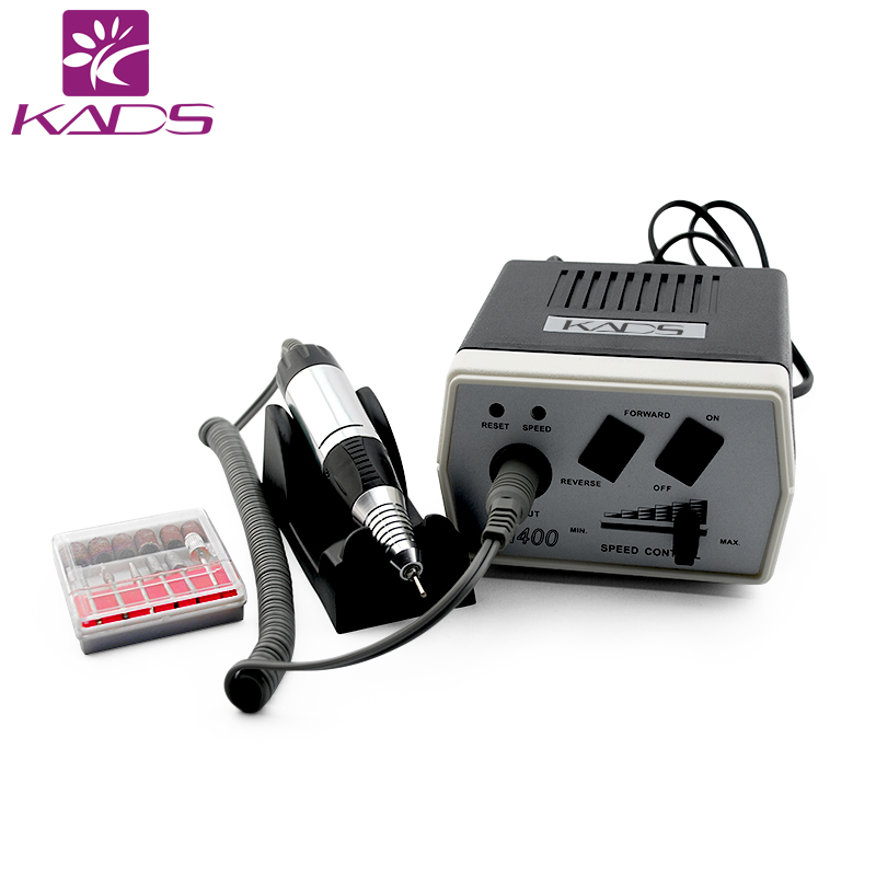 KADS 30000 RPM Schwarz nail art bohrer Nagel Ausrüstung Maniküre Werkzeuge Pediküre Acryl Grau Elektrische Nail art Bohrer Stift Maschine Set