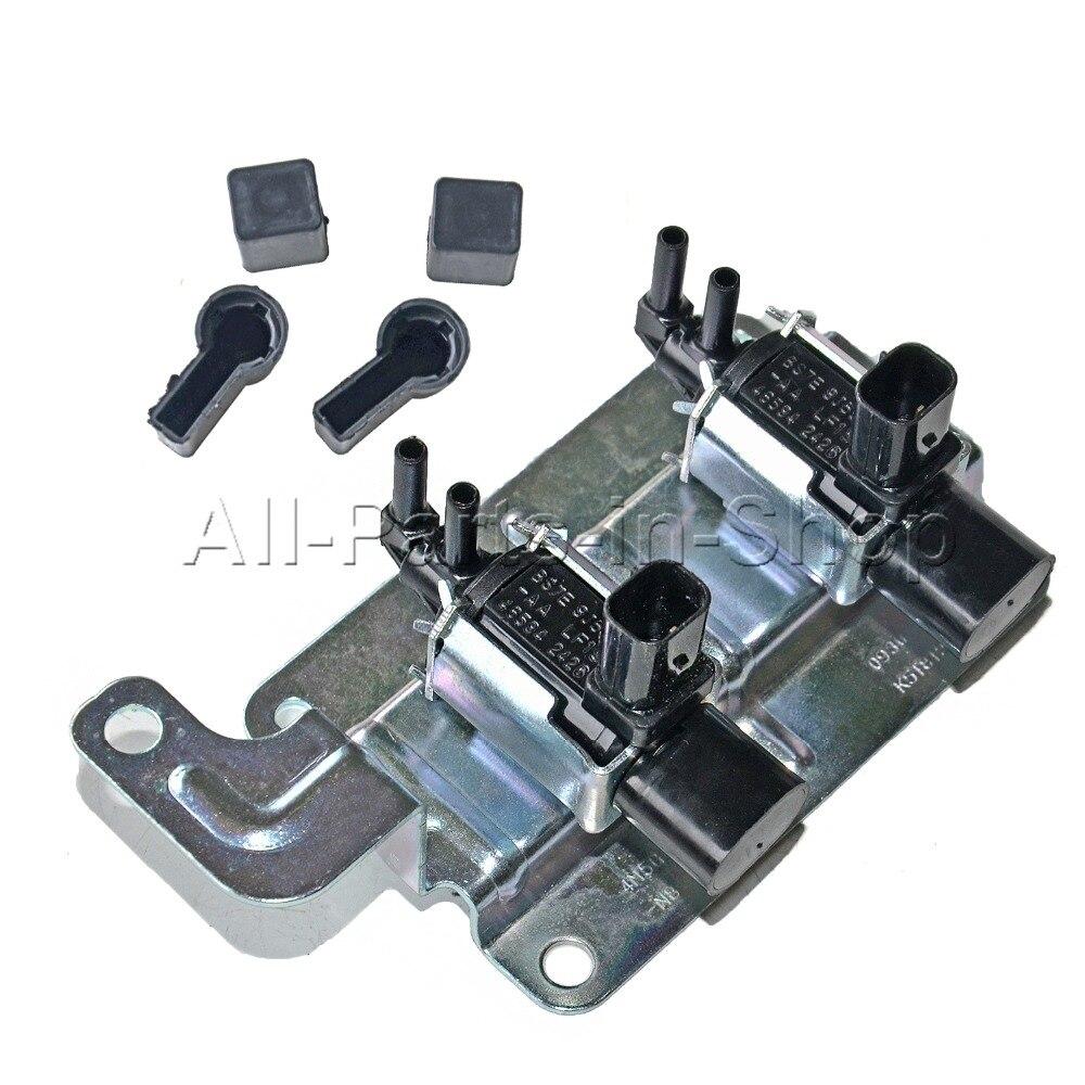 Vacuum solenoid valve intake manifold runner control 1357313 4m5g9j559nb for ford focus mk2 mondeo mk4 c