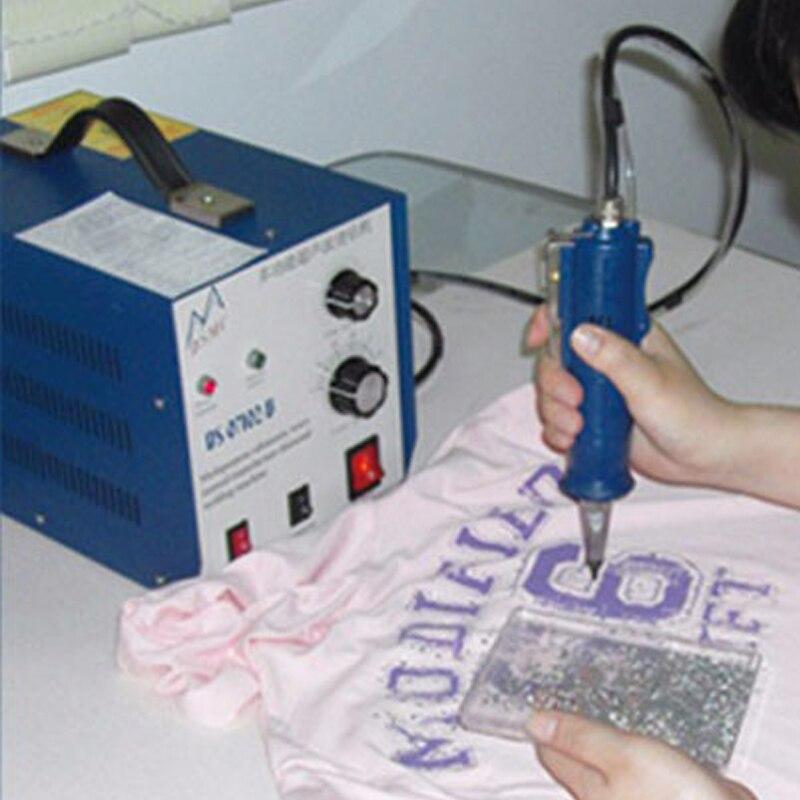 Ultraschall Punkt Bohren Maschine Ultraschall Bohren rig Ultraschall Maschine Hot Fix Steine Perlen DS-07102