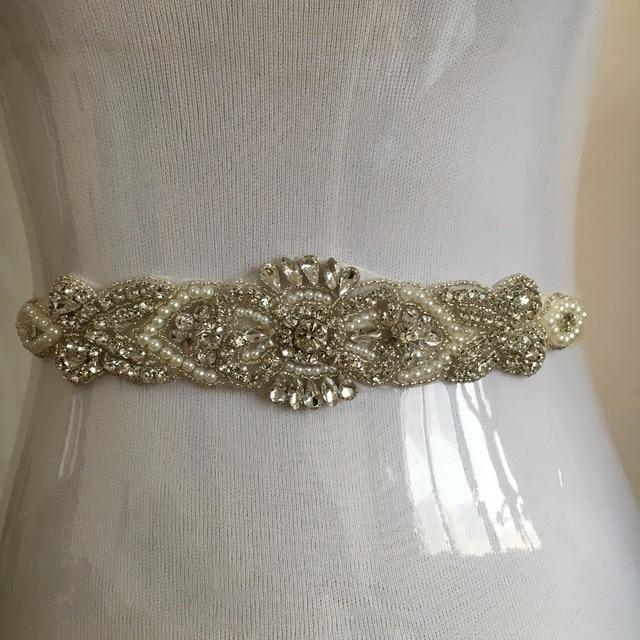 Customize Beaded Wedding Belt Bridal Sash Free shipping Rhinestone wedding sash Women Belt Wedding Accessories Women Sash PJ151