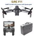 SJRC F11 GPS Drone con 5G Wifi FPV 1080 P Cámara gesto de Control sin escobillas Quadcopter 25 minutos de tiempo de vuelo plegable Selfie RC