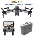 SJRC F11 GPS Drone mit 5G Wifi FPV 1080 P Kamera Gesture Control Bürstenlosen Quadcopter 25 minuten Flugzeit faltbare Selfie RC Eders