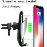 696 S5 Wireless Charger Car Phone Holder Fully Automatic Induction Charger For Your Mobile Phone Phone Stand Charger